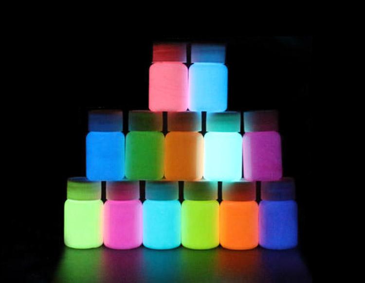 没想到小小的发光颜料既然还蕴含着大学问